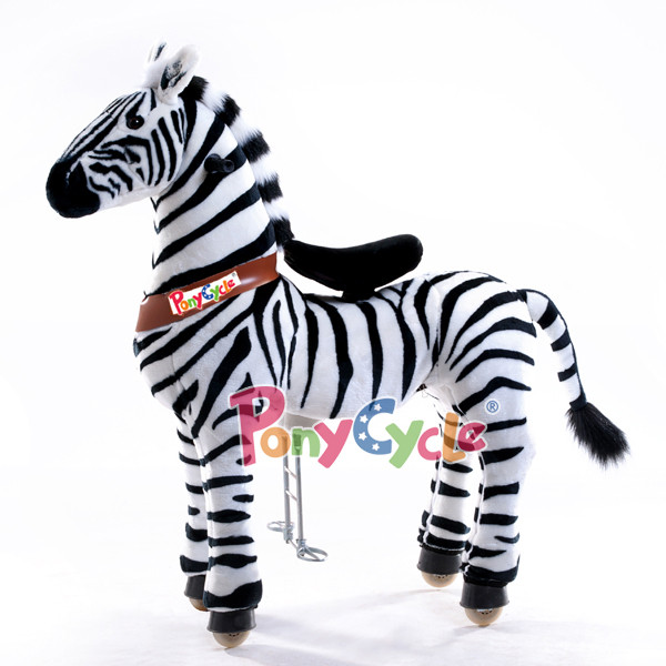 PonyCycle Zebra gross - PonyCycle-mieten.ch